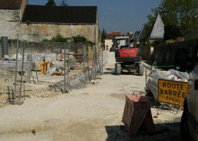 2010 / 2012 - La traversée du Bourg