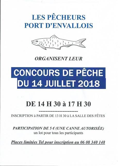 concours de pêche 2018