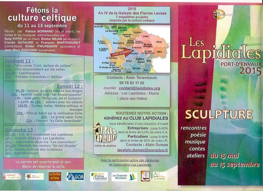 les Lapidiales 2015