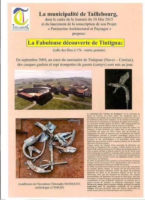 la  découverte de Tintignac