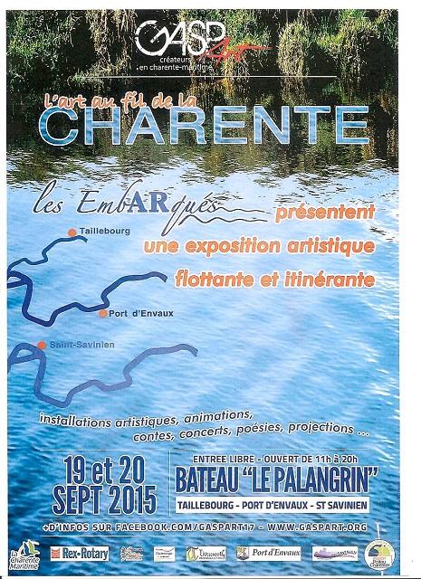 l'Art au fil de la Charente