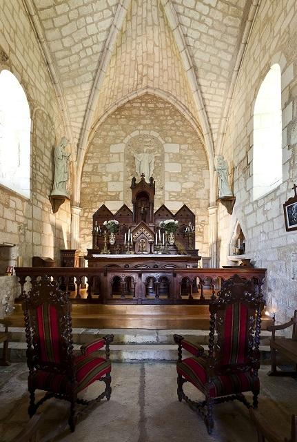 intérieur Eglise Crazannes
