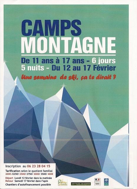 camps montagne