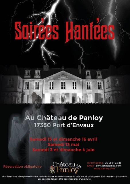 Une soirée hantée au château de Panloy