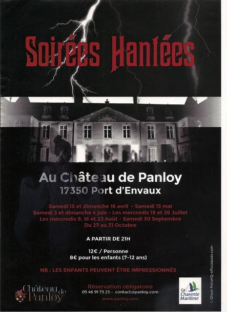 Soirée Hantée au Château de Panloy