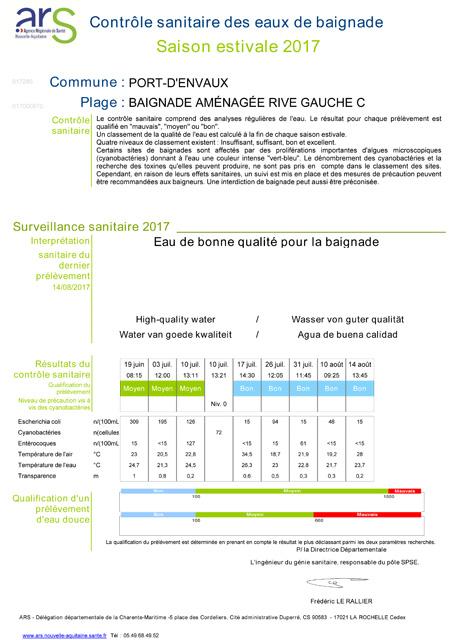 BAI_2017 - avis sanitaire DOUCE
