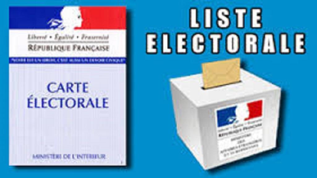 Inscription sur les listes electorales