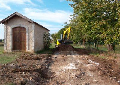 2018 - Aménagement du terrain de l'ancienne gare