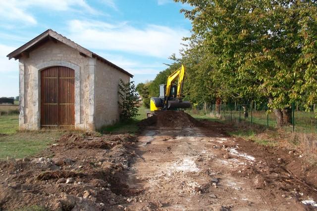2018 – Aménagement du terrain de l'ancienne gare