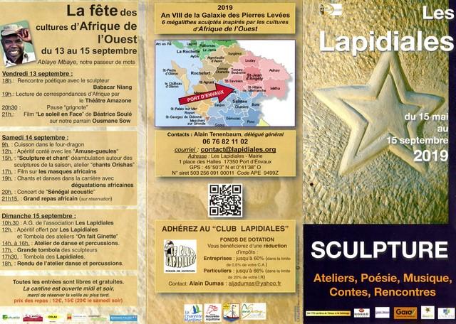 Les Lapidiales 2019