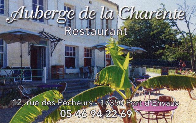 le restaurant de la charente
