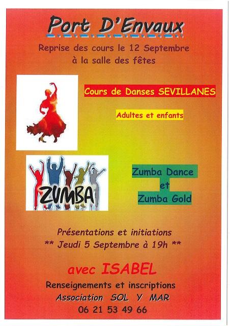 La Zumba dance reprend les cours