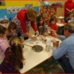 La matinée du Père Noël à l'école maternelle