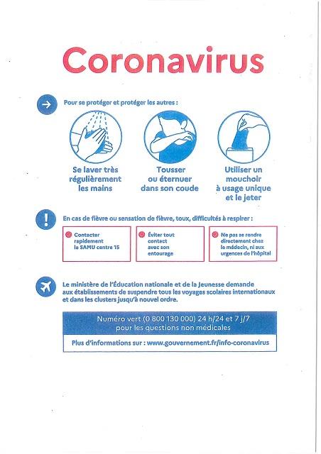 Sus au Coronavirus !