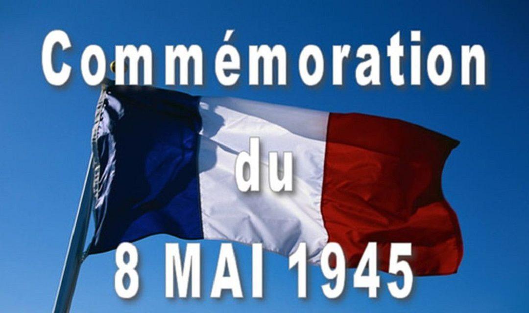 Commémoration du 8 Mai 2020