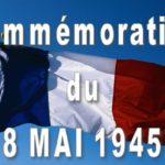 Commémoration du 8 Mai 2020 1