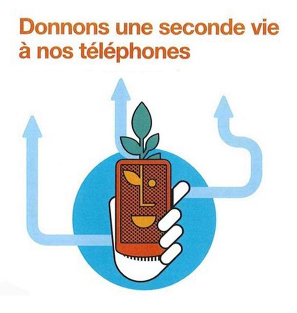 Récupération de téléphones portables !