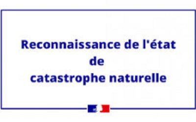 Catastrophe naturelle : déclaration