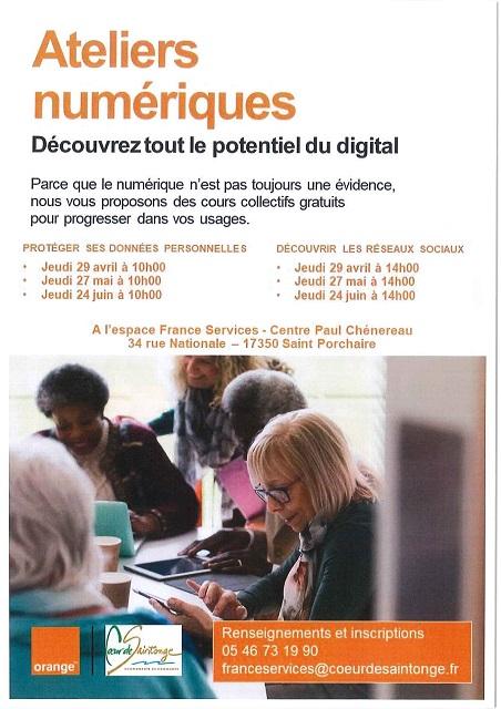 Ateliers numériques de la CDC