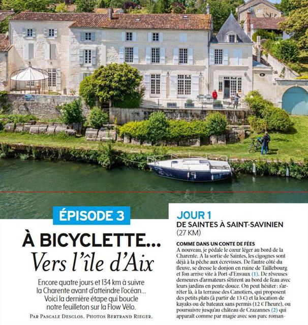 flow vélo et journal