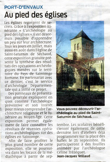 église archéologie