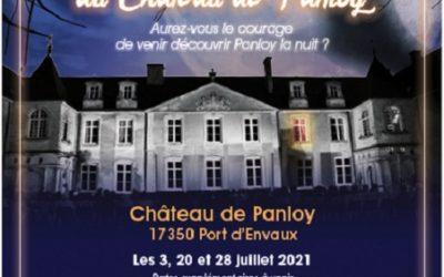 Les Soirées Hantées de l'été au Château de Panloy !