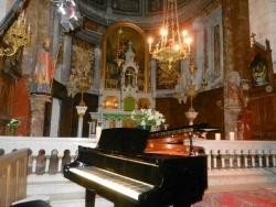 l'église de Saint Saturnin avant le concert